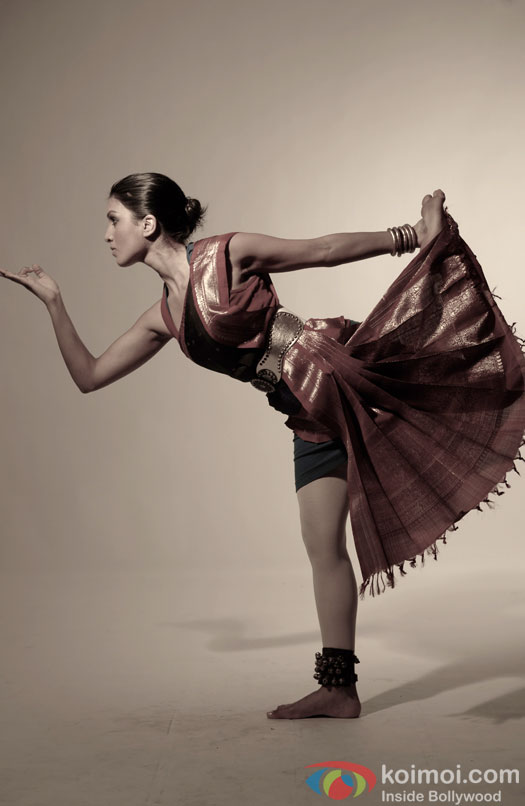 Pallavi Sharda does some classical moves