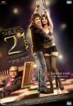Paresh Rawal, Rajeev Khandelwal and Tena Desae in Table No. 21 Movie Poster