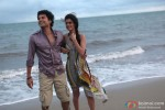 Rajeev Khandelwal and Tena Desae in Table No. 21 Movie Stills