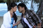 Rajeev Khandelwal and Tena Desae romances in Table No. 21 Movie Stills