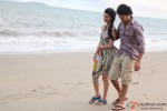 Rajeev Khandelwal and Tena Desae take a beach walk in Table No. 21 Movie Stills