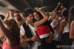 Rajeev Khandelwal shakes leg with Tena Desae in Table No. 21 Movie Stills