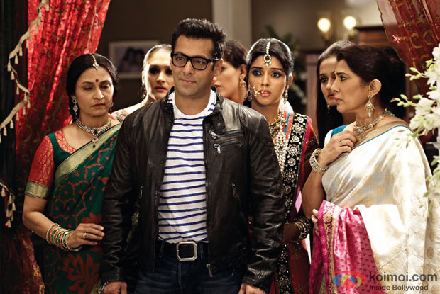 Salman Khan in a still from Ready Movie