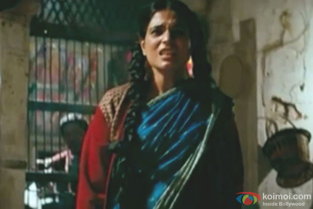 Richa Chadda in a still from Gangs of Wasseypur Movie