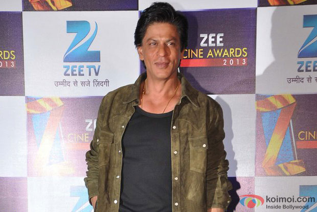 Shah Rukh Khan At Zee Cine Awards 2013 Media Meet