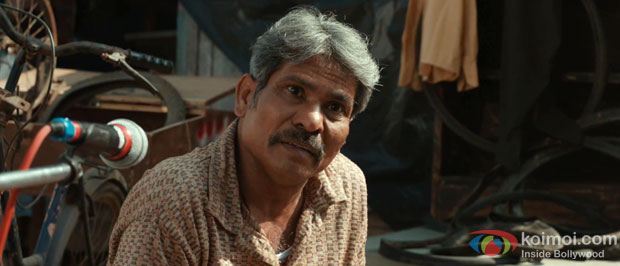 Sitaram Panchal in a still from Saare Jahaan Se Mehnga… Movie