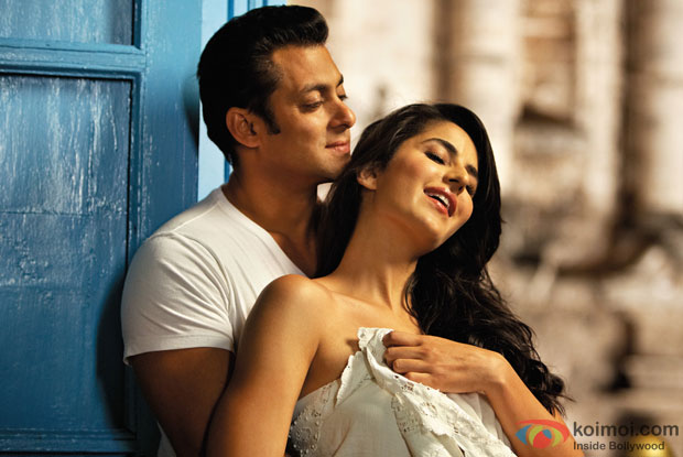 Salman Khan and Katrina Kaif in a still from Ek Tha Tiger Movie