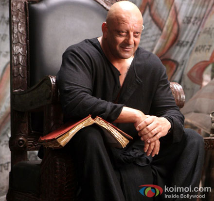 Sanjay Dutt in a still from Agneepath