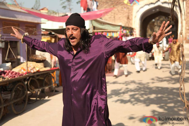 Sanjay Dutt in a still from Son Of Sardaar Movie