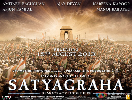 Satyagraha- Democracy Under Fire Movie Poster