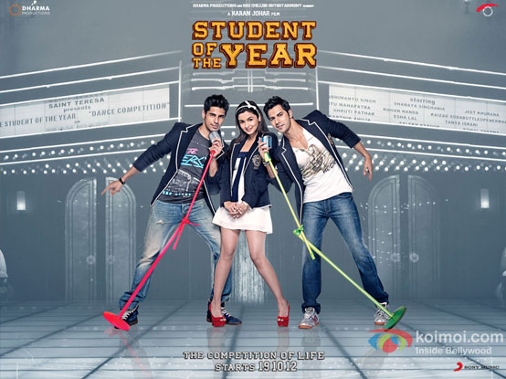 Student Of The Year Movie Poster Wallpaper