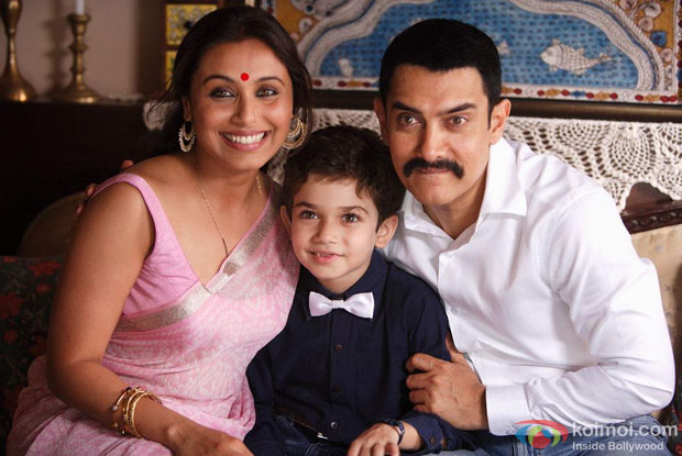 Aamir Khan and Rani Mukerji in a still from Talaash Movie