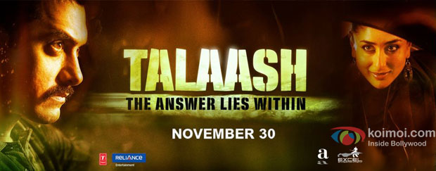 Talaash Movie Poster Wallpaper