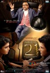 Tena Desae, Paresh Rawal and Rajeev Khandelwal in Table No. 21 Movie Poster