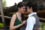 Tena Desae gets cozy with Rajeev Khandelwal in Table No. 21 Movie Stills
