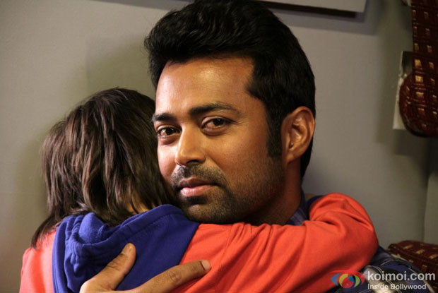 Leander Paes in Tera Zikr (Male) song in Rajdhani Express Movie Stills