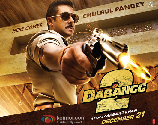 Dabangg 2 Poster Wallpaper