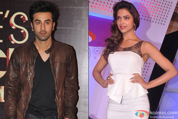 Ranbir Kapoor and Deepika Padukone for Yeh Jawani Hai Deewani Movie