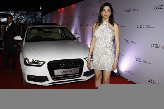 Aditi Gowitrikar at AUDI's New Showroom Launch Party