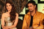 Aditi Rao Hydari And Randeep Hooda at the film Murder 3 first look launch Pic 1