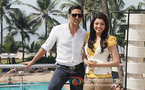 Akshay Kumar And Kajal Aggarwal at Special Chabbis 26 Promotion