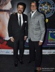 Anil Kapoor And Amitabh Bachchan Promoting Race 2 Movie At Kaun Banega Crorepati 6 Pic 1