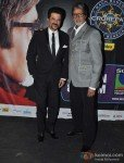 Anil Kapoor And Amitabh Bachchan Promoting Race 2 Movie At Kaun Banega Crorepati 6 Pic 2