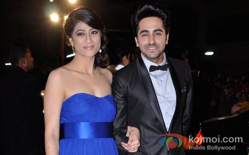 Ayushman Khurana At Walk The Red Carpet Of Filmfare Awards 2013