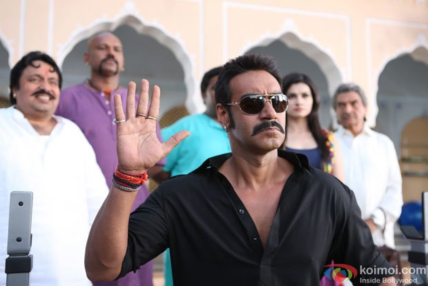 Still from Bol Bachchan Movie