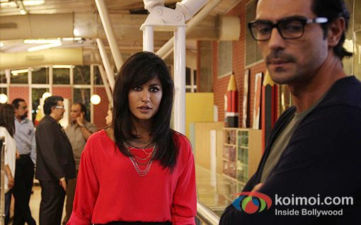 Chitrangada Singh And Arjun Rampal In Inkaar Movie Stills