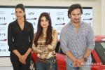 Deepika Padukone, Ameesha Patel, Saif Ali Khan at 'Race 2' Promotion in Delhi Pic 2