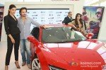Deepika Padukone, Saif Ali Khan And Ameesha Patel at 'Race 2' Promotion in Delhi