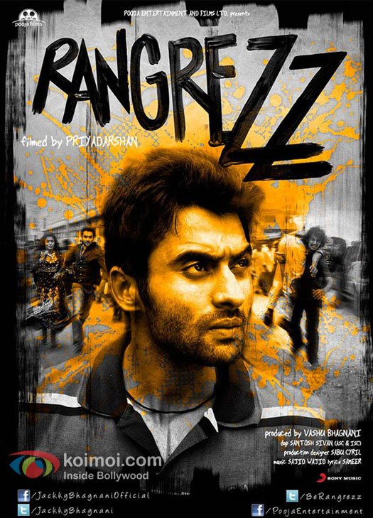 Jackky Bhagnani in Rangrezz Movie First Look Poster