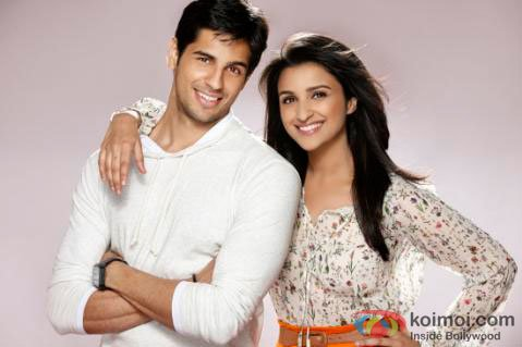 Sidharth Malhotra and Parineeti Chopra