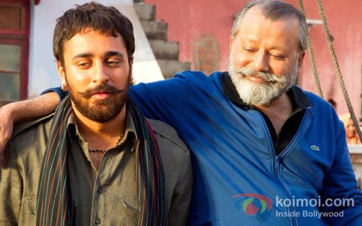 Imran Khan And Pankaj Kapur In Matru Ki Bijlee Ka Mandola Movie Stils