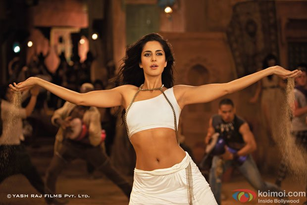 Katrina Kaif in a still from Ek Tha Tiger Movie