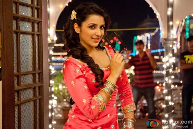 Parineeti Chopra in a still from Ishaqzaade Movie