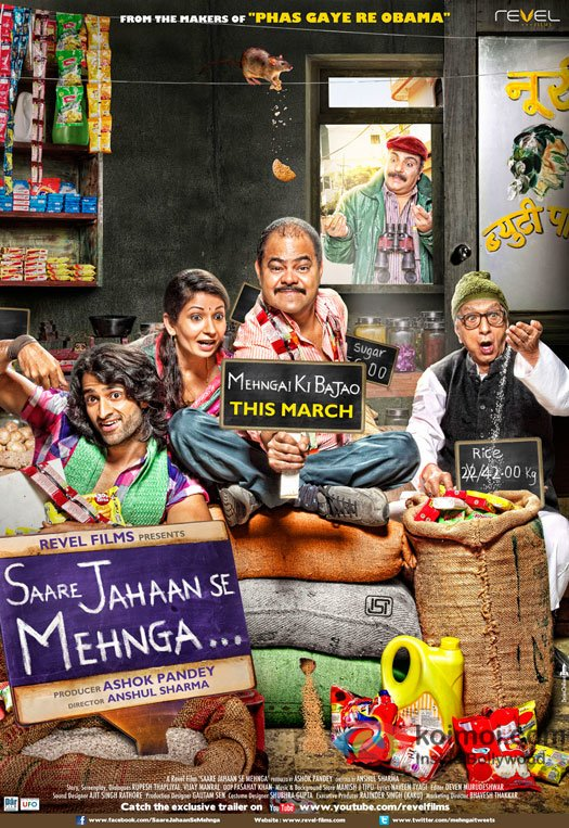 Saare Jahaan Se Mehnga Movie Poster