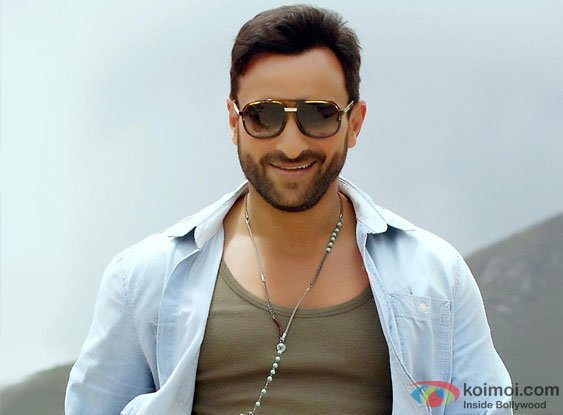 Saif Ali Khan in a still from Cocktail Movie
