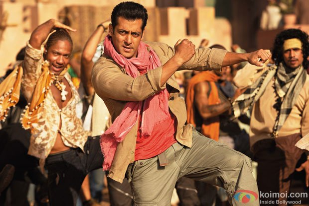 Salman Khan in a still from Ek Tha Tiger Movie