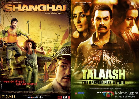 Shanghai and Talaash Movie Poster