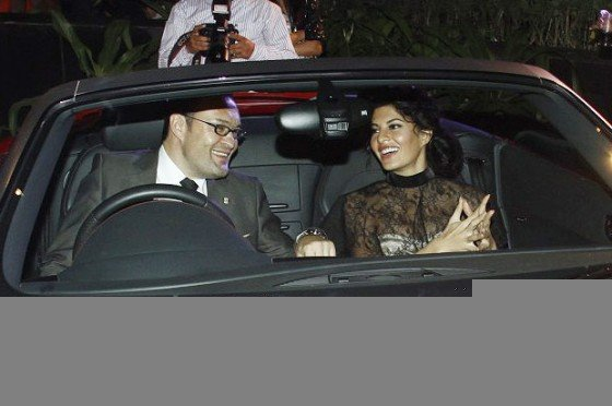 Sizzling Jacqueline Fernandez at AUDI's New Showroom Launch Party Pic 5