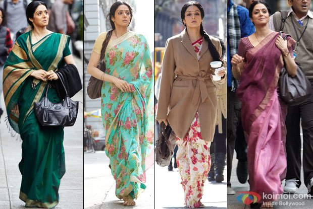 Sridevi in a still from English Vinglish Movie