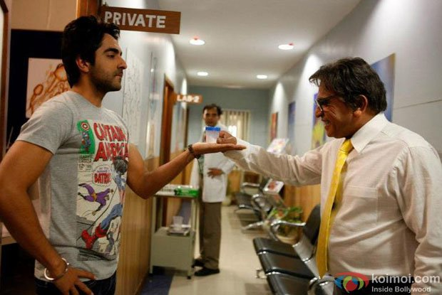 Still from Vicky Donor Movie