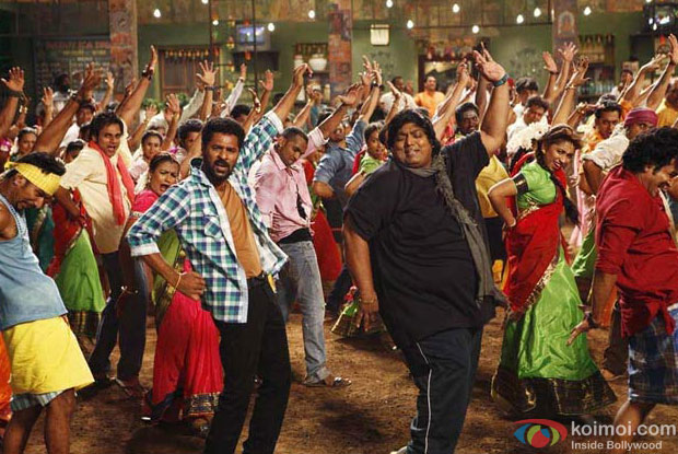 Prabhu Deva and Ganesh Acharya in a still from ABCD – Any Body Can Dance Movie