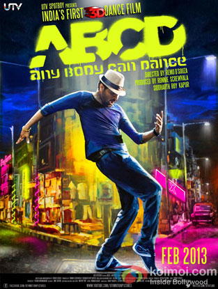 ABCD – Any Body Can Dance Review (ABCD – Any Body Can Dance Movie Poster)