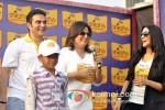 Arbaaz Khan, Farah Khan And Neha Dhupia at the Shiksha Event