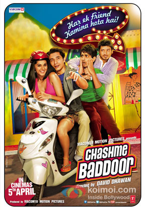 Chashme Baddoor Movie Poster