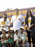 Huma Qureshi, Arbaaz Khan And Neha Dhupia at the Shiksha Event
