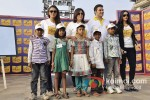 Huma Qureshi, Farah Khan, Arbaaz Khan And Neha Dhupia at the Shiksha Event Pic 4